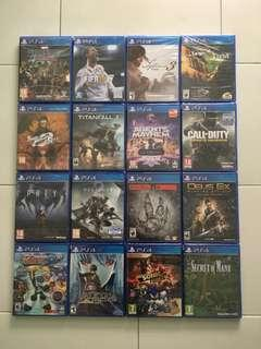 🚚 PS4 Games Spring 2019 Sale Bundle Deal *Any 3 Games For $50 (Brand New & Sealed)