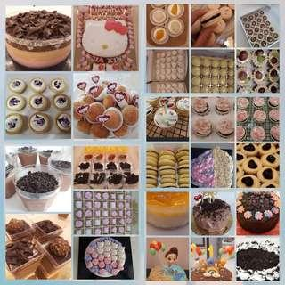 Cheesecake/cupcake/tarts/birthday cake/jelly cake