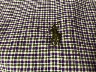 Polo Ralph Lauren XL purple long sleeve