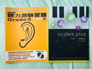 ABRSM Aural exercise & piano scales