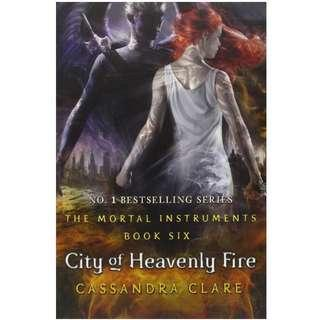 NEW City Of Heavenly Fire The Mortal Instruments Cassandra Clare