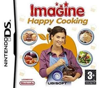 Nintendo DS Game Card - imagine Happy Cooking