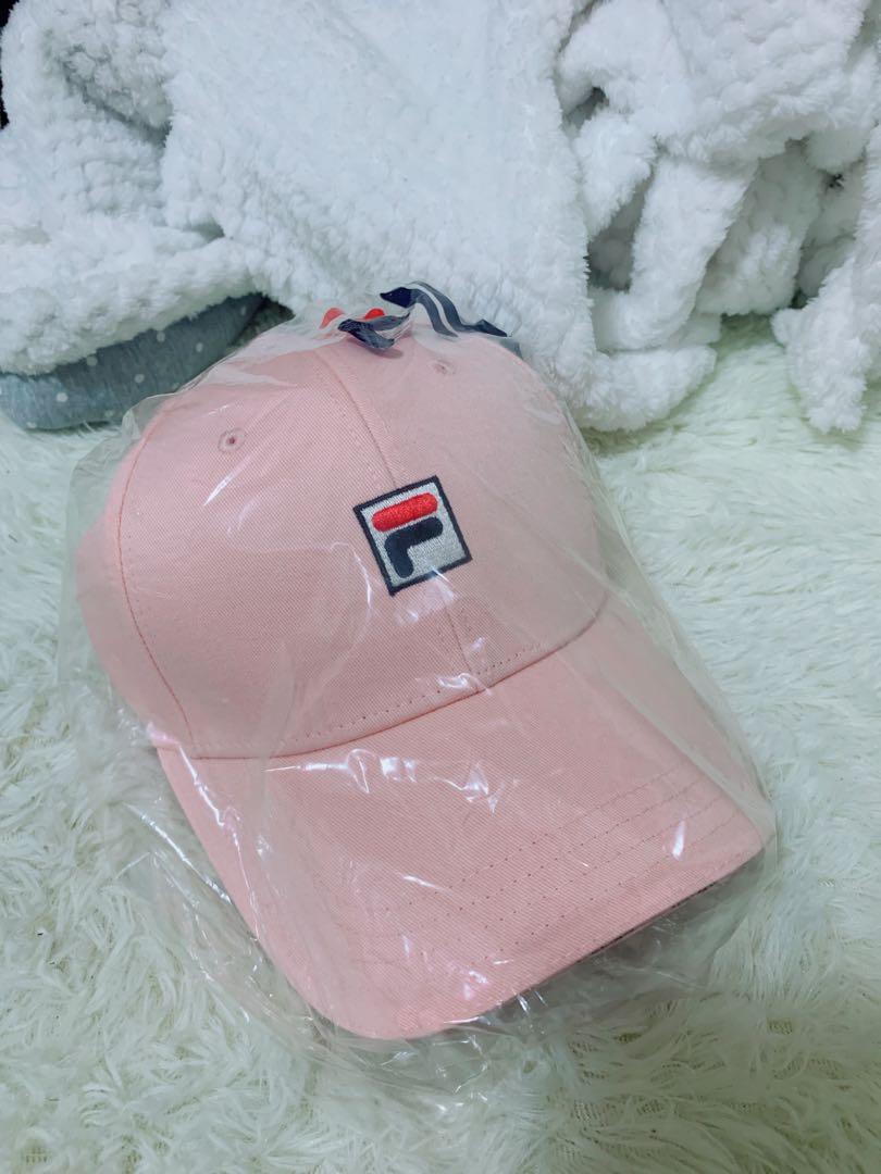 6cc23b7650d 100% Authentic Brand new instock! Fila cap pink