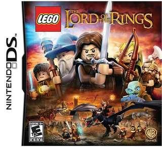 Nintendo DS Game Card - LEGO Lord of the Rings
