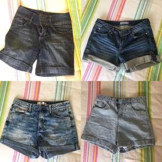 Denim shorts!