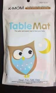 Disposal table mat from Korea