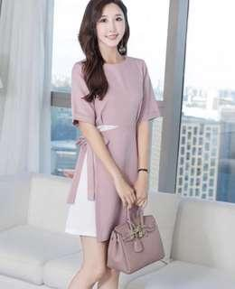 [IN STOCK] Pink Office Dress