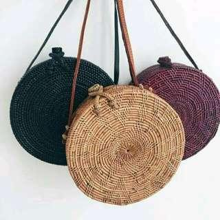 Sling Bag Anyaman Asli Jogja (Limited)