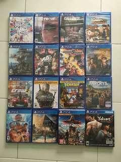 🚚 PS4 Games Bundle Deal Spring 2019 Sale *Any 3 Games For $120 (All Brand New And Sealed Games)