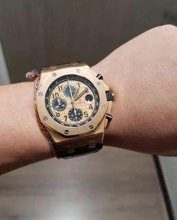 Audemars Piguet Royal Oak Offshore Rosegold Novelty