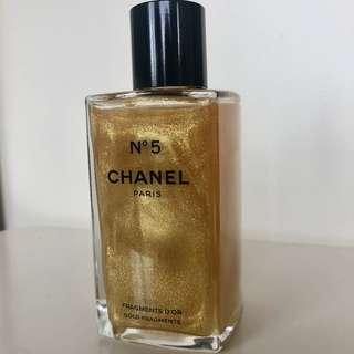 CHANEL 'No. 5 Fragments D'OR Gold Fragments Sparkling Body Gel'