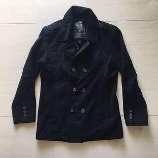 Forever 21 Men Black Coat