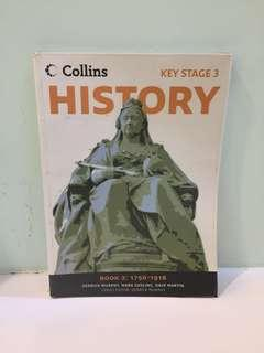 Collins Key Stage 3 History Book 2: 1750-1918