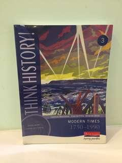 Think History Modern Times 1750-1990 Student Book 3
