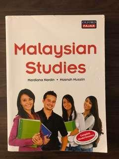 Malaysian Studies & Communicative Malay Language