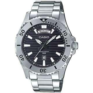 MTD-1087D-1AVDF MTD-1087D-1A MTD-1087D-1 Casio Men Marine Sports Day Date Watch