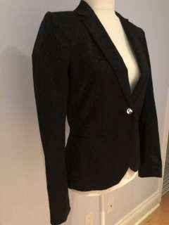Black ladies hm blazer size 6