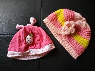 TAKE ALL 2pcs topi bayi
