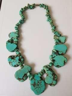 Howlite  Short Necklace