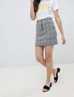 Brave Soul (london) check skirt