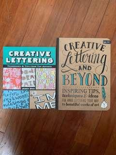 Creative Lettering books