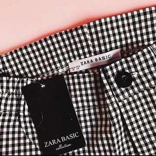 Checked Pants Zara