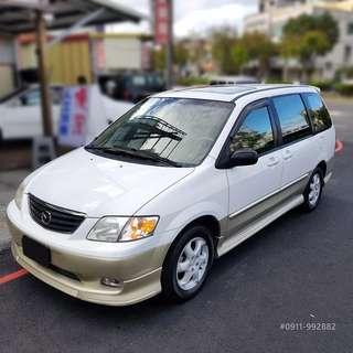 2001 MPV 2.5 七人休旅車