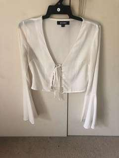 Misguided Bell sleeve top