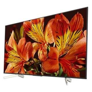 """Sony Bravia XBR65X850F 65"""" 4K HDR10 HLG Triluminos Android TV with Google Assistant 3840x2160(display set)"""