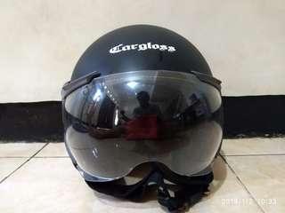 Helm Cargloss half face L