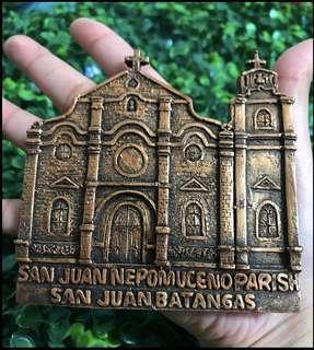 San Juan Nepomuceno cathedral souvenir ref magnet