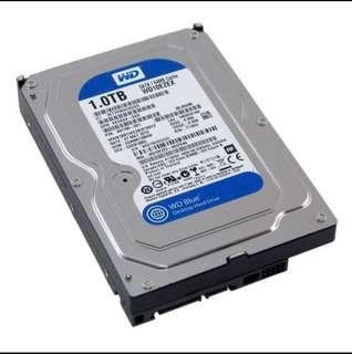 "WD 1TB HDD 3.5"" Desktop Blue"