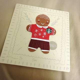 starbucks card gingerbread gift card