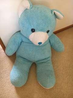 Massive blue bear