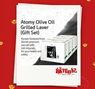 CNY ATOMY SESAME OIL GRILLED LAVER (GIFT 4 SET)