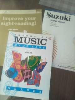 Violin grade 3 books
