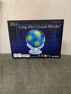 3D Crystal Puzzle - Soccer Ball