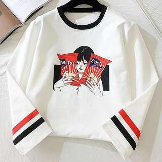[PO] Doritos Long sleeve T shirt / Tee / Top ulzzang korean harajuku Japanese