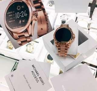 [PRE ORDER] Michael Kors Bradshaw Smartwatch in Rose Gold