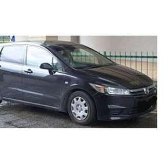 Honda Stream X 1.8L 7-Seater MPV for Rent