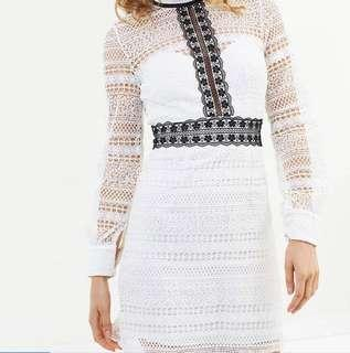 White lace dress - worn once