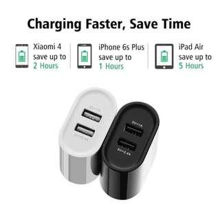 Clearance Sale UGreen Dual USB Phone, Tablet Charger