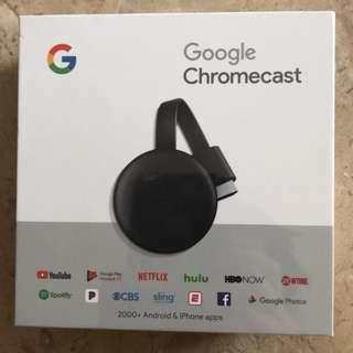 Google Chromecast (3rd Generation) Streaming Media Player 1080p HD (GA00439-US)