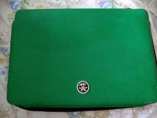 """Crumpler 15"""" laptop bag asli kulit"""