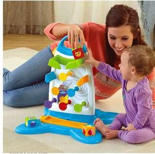 Fisher Price- Roller Blocks Play Wall