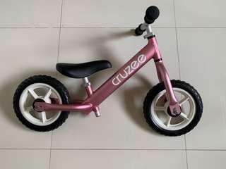 Cruzee balance bike (Pink)