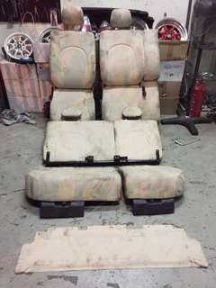 Seat sambung toyota passo