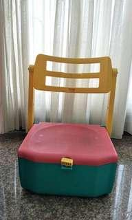 Cooler box and chair