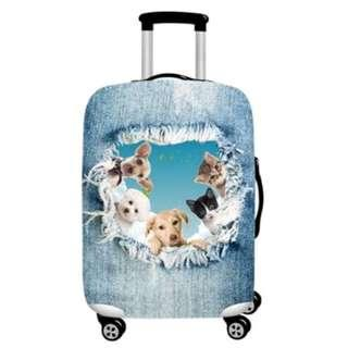 Spandex 'Kitten' Luggage Cover - M size