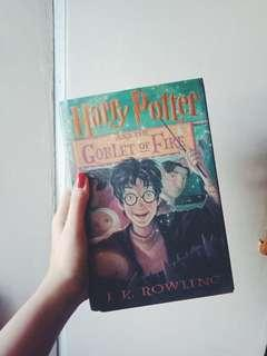 Harry Potter and the Goblet of Fire (hardbound) by JK Rowling